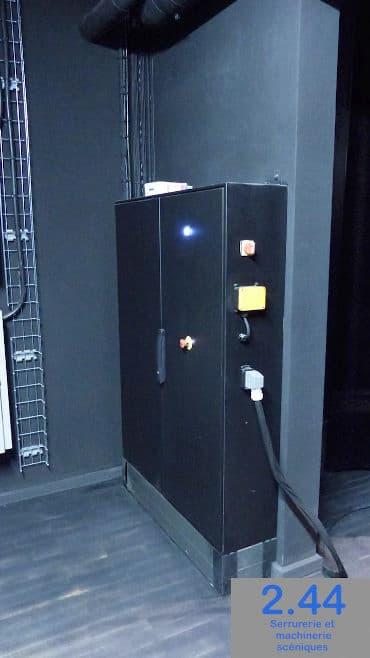 Electrical cabinet Salle polyvalente Janzé (35)
