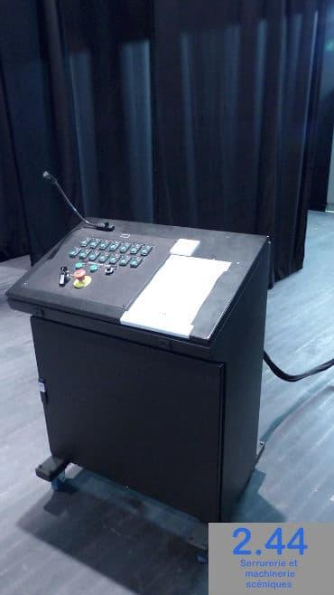 Control desk Salle polyvalente Janzé (35)