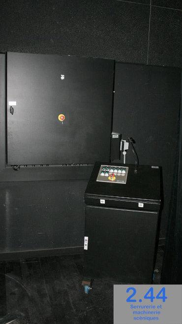 Control desk Locminé (56)