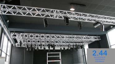 Poutre aluminium Espace Jeunes Rennes (35)
