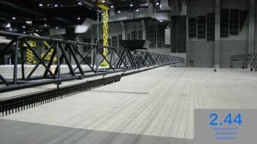 Poutre aluminium Amphithéa 4000 Angers (49)