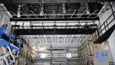 Installation Passerelle suspendue Bernay (27)