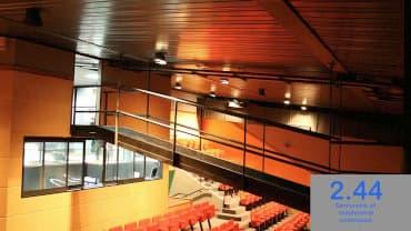 Passerelle suspendue Salle TRIO...S Inzinzac-Lochrist (56)