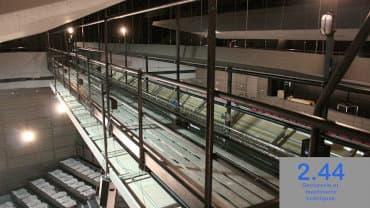 Passerelle suspendue Salle Carré d'argent Pontchâteau (44)